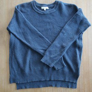 MADEWELL BLUE KNITTED SWEATER SIZE SMALL